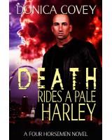Death Rides A Pale Harley - print