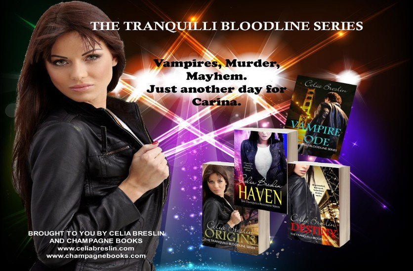 Vampires, Murder, Mayhem. Just another day for Carina.